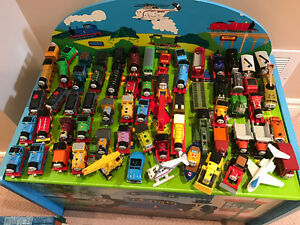 Thomas collection - 60+ trains, tracks, stations and toy box Oakville / Halton Region Toronto (GTA) image 2