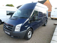 2011 Ford Transt, WELFARE VAN, ALL WHEEL DRIVE, 4X4, LWB, HIGH ROOF T350 140bhp,