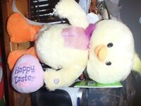 DANCING/SINGING EASTER TOYS--NEW WITH TAGS
