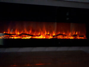 """40'' 50"""" 60"""" 70'' - Fireplace Built-IN *LIMITED TIME SPECIAL*"""