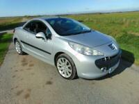 2008 Peugeot 207 CC 1.6 16v 120 Coupe GT silver manual