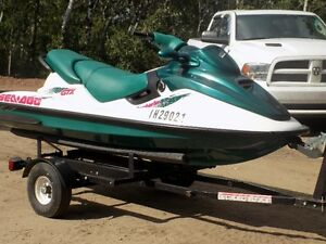SEADOO GTX 3 SEATER  ONLY 74HRS RUNS GREAT