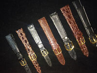 Watch leather band sale