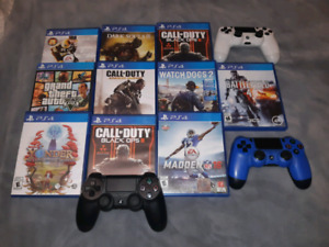 Ps4/Xbox one games, ps4 controllers and camera