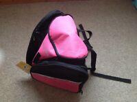 Transpack Ice Skates Bag / Rucksack in Pink *NEW*