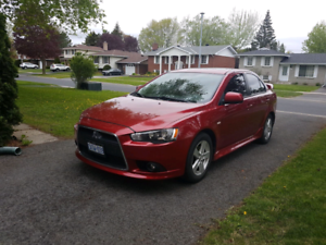 Lancer GT with Leather interior