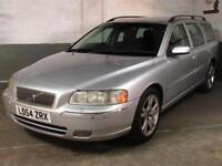 2004 54 VOLVO V70 2.4 D5 SE AUTO Htd.Elec.Memy.LEATHER SPARES REPAIRS GBox Bangs