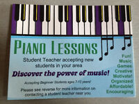 Beaumont Piano Teacher