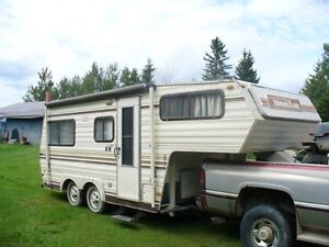 travelaire 19.5 ft. fifth wheel camper