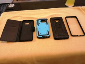 High end mixed phone case's