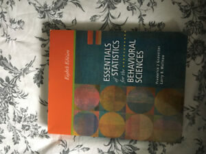 Statistics for the behavioral sciences buy or sell books in essentials of statistics for the behavioral sciences fandeluxe Image collections