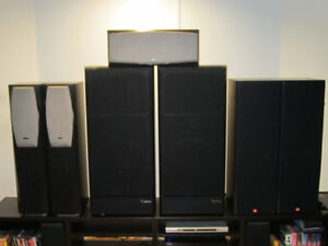 Basement Cleaning Infinity SM 152/IL30/IL36C/JBL MRV310 Speakers