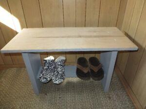 cute little shoe Bench