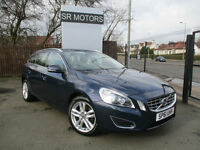 2011 Volvo V60 2.0D D3 SE Lux(ONE OWNER,CREAM LEATHER SEATS)