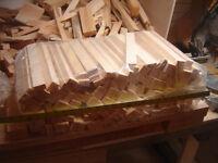 Paquet de bois d'allumage en pin 100% sec