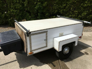 Boat Trailer/Cargo Box with 14 inch wheels and leaf springs