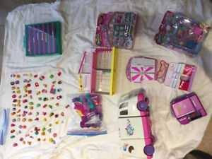 Shopkins Playsets and Figures - over 100