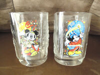 2 Disney Mickey Mouse Glasses