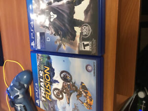 8 Ps4 games all great condition