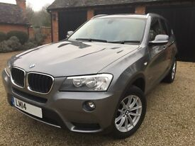 2014 BMW X3 sDrive 1.8d SE AUTO - SAT NAV - Leather - Elec Tow Bar - Privacy Glass - Service Pack
