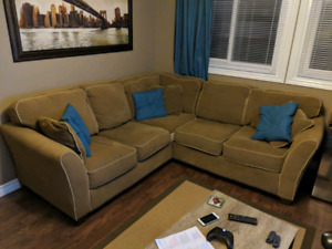 Sectional L Couch Sofa