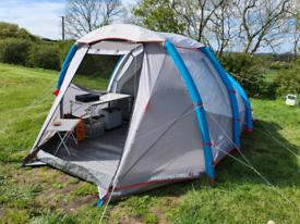 Quechua air seconds 4 man tent (inflatable)