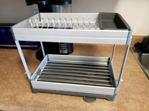 Like new convertible dish rack