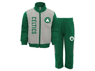 Boston Celtics TODDLER Sizes 2T 3T 4T Full-Zip Sweatshirt and Sweatpant Set - Toddler Sizes 2t