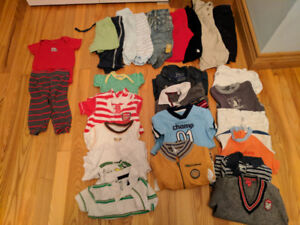 Boy's 6-9 months clothes