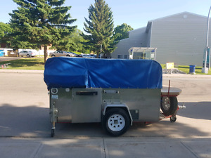 Hot dog and ice cream cart for for sale, GREAT money make!!!!