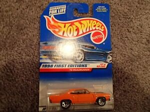 98 Hot Wheels 70 Road Runner - 1998 First Editions 17 of 40