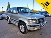2002 02 ISUZU TROOPER 3.0 LWB DT 5D 157 BHP! P/X WELCOME!FULL SERVICE HIST! FULL