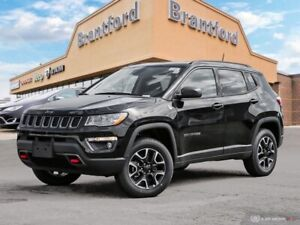 2019 Jeep Compass Trailhawk  - Leather Seats - Heated Seats - $2