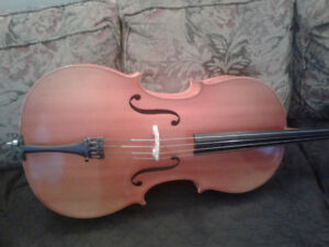 Full size and 1/2 size cello=NEW PRICE
