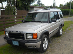 2001 Land Rover Discovery SUV, Crossover