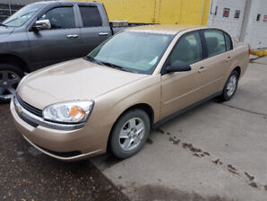 2005 CHEVROLET MALIBU LS 3.5L V6 VERY LOW KILOMETERS 44,OOOKM!!