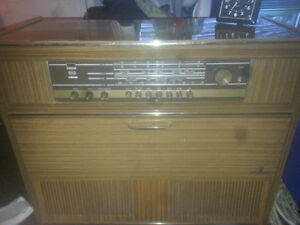 1960s vintage Grundig Locarno console great condition