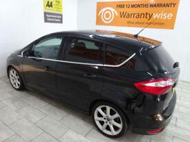 Black Ford C-MAX 1.6TDCi Titanium ***FROM £156 PER MONTH***