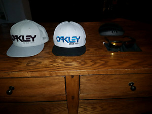 Oakley sunglasses and hats 140 for lot