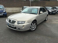 56 plate Rover 75 1.8T Connoisseur top of the range luxury car SALE PRICE £1200
