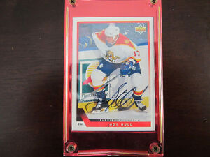Upper Deck Jody Hull Autographed Hockey Card # 510