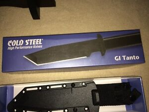 couteau gi tanto carbon steel