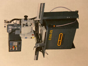 Semi-Automatic Hyd-Mech C350-2S vertical cold saw