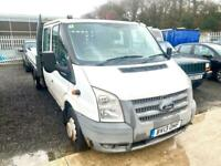 Ford Transit 2.2TDCi ( 100PS ) ( EU5 ) (RWD) 350LWB Double cab Dropside 2013/13