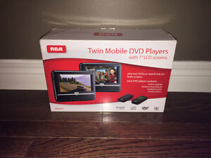 Twin Mobile DVD players