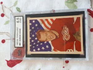Gordie Howe #55 Graded 1963/64 Parkhurst  Hockey Card