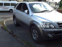 2005 Kia Sorento CRDI XS auto,stunning 4x4,fully loaded,read add