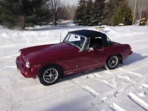 Fully restored '76 MG Midget