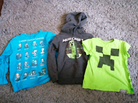 Minecraft clothes 5-6 years