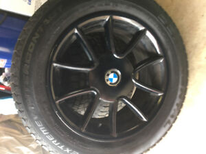 225/60 R17 winter tires with rims.